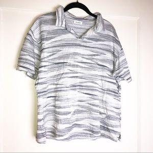 Balmain Swirl Athleisure top size medium